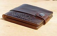 Кожаный кошелёк портмоне.Мужское портмоне.