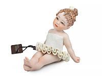 """Фарфоровая коллекционная статуэтка (кукла) """"Балерина"""" 7 см от Sibania"""