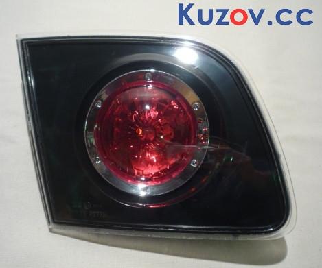 Фонарь задний Mazda 3 хетчбек 04-09 левый (Depo) внутренний прозрачный 216-1305L-LD-UE