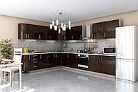 Кухня Гарант серия Гламур угловая, МДФ пленка, фото 1