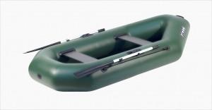Лодка надувная Шторм модель st 260 двухместная гребная