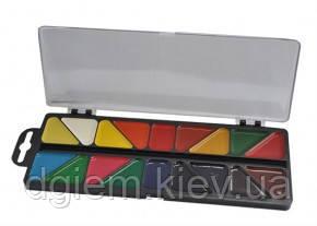 Краски акварельные 18цветов пласт. кор. ZiBi KIDS Line