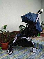 """Детская прогулочная коляска """"Baby tame"""" Синяя"""