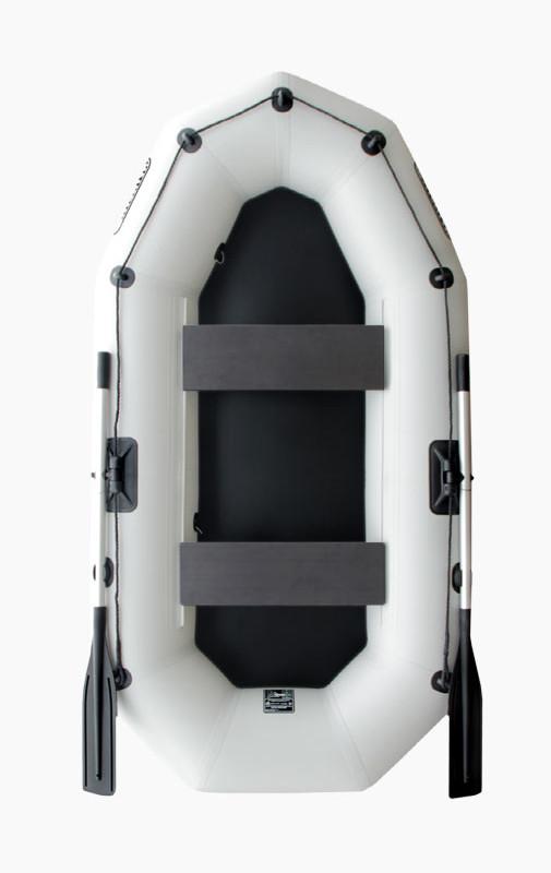 Лодка надувная Шторм ma260 двухместная гребная
