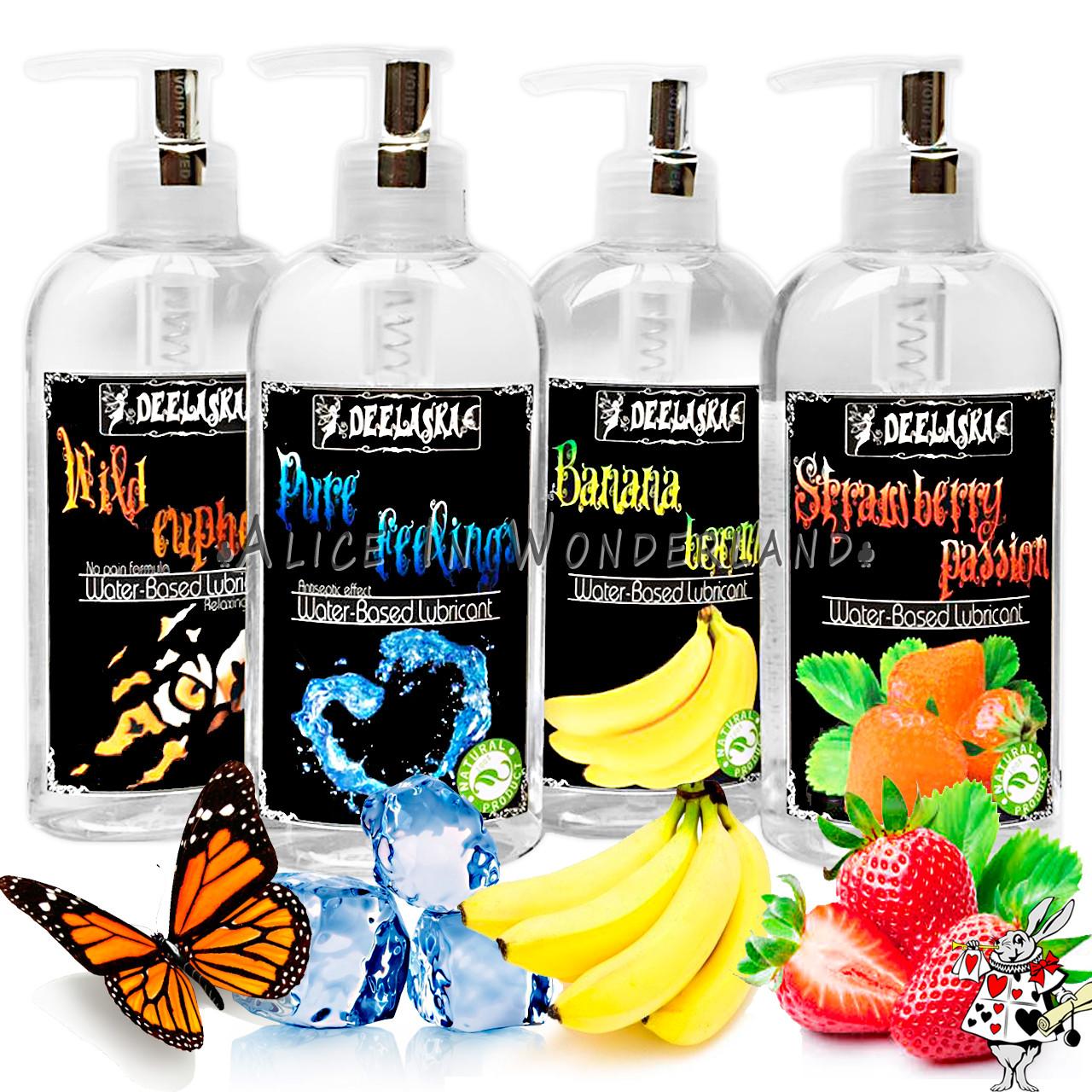 Лубрикант смазка на водной основе 200 ml Оригинал США гель-смазка Разные Ароматы интим смазка