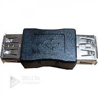 Переходник USB AF / AF, адаптер соединитель
