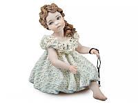 """Фарфоровая коллекционная статуэтка (кукла) """"Катя"""" 14 см от Sibania"""