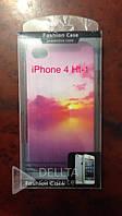 Обложка Iphone 4G apple, рисунки HT-1, Чехол для айфона