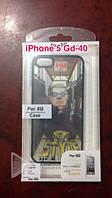Обложка Iphone 5G 3D GD- 40, накладка на телефон