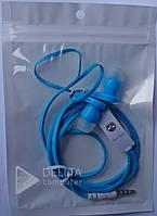 Наушники с микрофоном 010 в пакете, mini jack 3.5m, Наушники с микрофоном