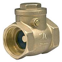 Клапан обратный поворотный резьбовой 1180 Ду 15 Ру 16