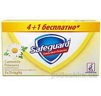 Мыло туалетное Safeguard Ромашка 5х75г
