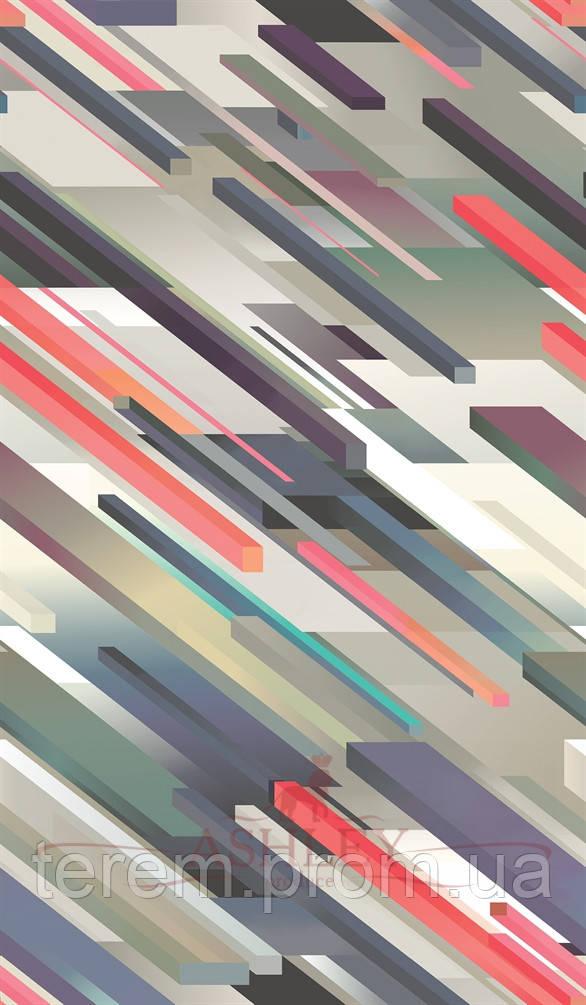 Обои бумажные,10м х 68,5см, Cubiste, Англия