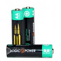 Батарейка LogicPower Super Heavy duty AA R6P, 1.5В, мини-пальчиковая, (Цена за 4 шт.) батарейка для пульта LogicPower Super Heavy duty AA R6P