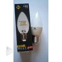 Светодиодная лампа G-TESH E27 - 4W 4000k, 320 Lm, свеча, Лампа LED G-TESH