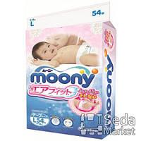 Детские подгузники Unicahrm Baby diapers Moony M RS62, 6-11кг