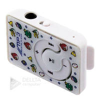 Mp3 плеер Angry birds 006, microSD, наушники, кабель USB, без памяти, без радио, Детский плеер Angry birds 006