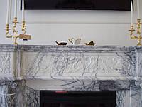 Мраморные каминные порталы под заказ