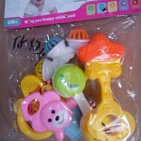 Детский набор погремушек Baby Set 5в1