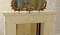 Камин из мрамора, мраморные каминные порталы под заказ