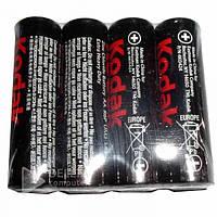 Батарейка солевая KODAK R6, 1.5В, (Цена за 24 шт.) мини-пальчиковая, батарейка для пульта солевая KODAK R6