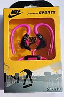 Наушники вакуумные Nike Sf-А10, mini jack 3.5, с микрофоном, 1.2 длина тканевого шнурка, чистый звук, Наушники вкладыши