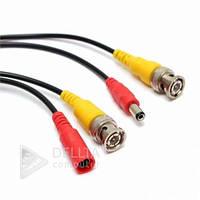 Кабель, провод видеонаблюдения BNC+DC 5м, шнур видеонаблюдения BNC+DC 5м