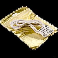 Кабель USB - Type-C W 1м белый / OEM