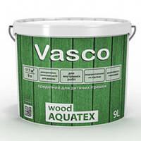 Пропитка для дерева VASCO WOOD AQUATEX 2,7 л Бесцветная под колеровку