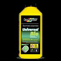 Грунтовка акриловая UNIVERSAL - BIO Kompozit  концентрат 1:4, 2 л