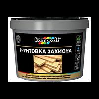 Грунтовка защитная для дерева Kompozit 10 л