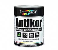 Грунтовка для металла ANTIKOR  Kompozit Красно-коричневый 1 кг