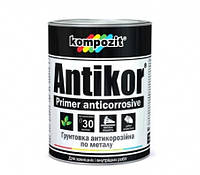 Грунтовка для металла ANTIKOR  Kompozit Красно-коричневый 15 кг
