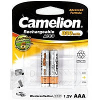 Аккумулятор Camelion Ni-Mh R03 Емкость 800mAh, ААА, R03, Ni-MH, 1.0 А/ч, 0.8 В,