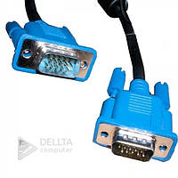 Кабель, провод VGA 3+5 M/M 10м, шнур HDMI VGA 3+5 M/M