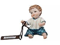 """Фарфоровая коллекционная статуэтка (кукла) """"Мино"""" 7 см от Sibania"""
