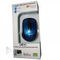 Мышка ASUS 3100 беспроводная, Bluetooth, батарейки AA, 2.4 Ггц, оптическая, Мышь для компьютера ASUS 3100