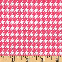 """Ткань для пэчворка и рукоделия американский хлопок """"Лапка розовая"""", 20*55 или 30*55 см"""