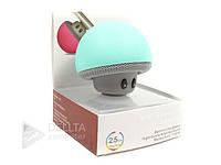 Портативная колонка Bluetooth грибочек BT-280, 280 мАч, Литиевый аккумулятор, пластик, Беспроводная колонка с Bluetooth грибочек BT-280