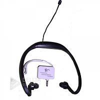 Наушники беспроводные YS CM06, Ушной крючок, Bluetooth, FM-радио, USB, наушники с блютузом