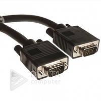 Кабель, провод LogicPower VGA 7м черный,  шнур аудио и видео VGA