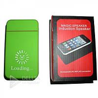 Колонки MP3 KU008, работа 3 батарейки АА / USB, 2,5 Вт (громкий), 3,5-мм разъем, Беспроводная колонка MP3 KU008