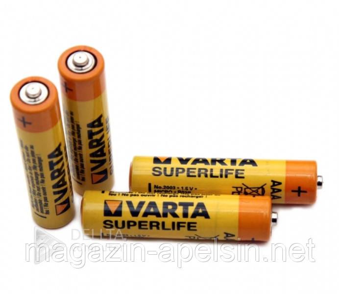 """Батарейка VARTA R-03, пальчиковая, 1.5В, (Цена за 60 шт.) батарейка для игрушек VARTA R-03 - интернет-магазин """"Апельсин"""" в Одессе"""