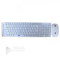 Клавиатура DL 419 WIRLESS +mouse, USB, для ПК, беспроводные, мышь классическая, клавиатура с мышкой для ПК  DL 419