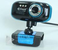 Веб - камера K 008, 5,0 Мп, встроенный микрофон, USB, CMOS, Видеокамера для ПК