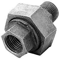 Соединение чугунное под ключ (американка) В/Н ГОСТ 8959-75 Ду20