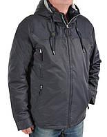 Куртка мужская осенняя синего цвета