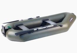 Лодка надувная Шторм st 260 t с навесным транцем из пвх