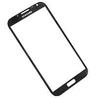 Стекло экрана Samsung N7100 Galaxy Note 2 черное