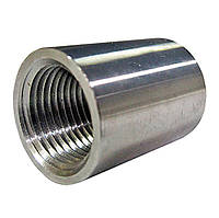Муфта соединительная из нержавеющей стали ГОСТ 8966-59 Ду15